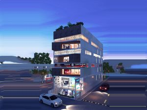 Proposed Commercial Complex at Karur